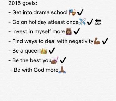 life goals 16