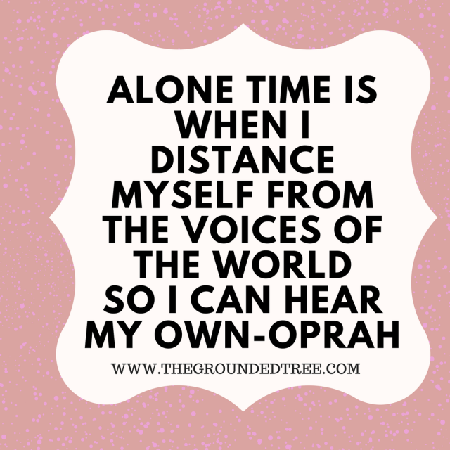 Oprah Alone quote