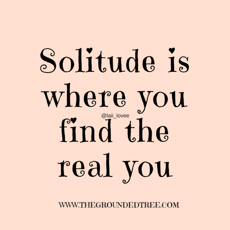 Solitude quote
