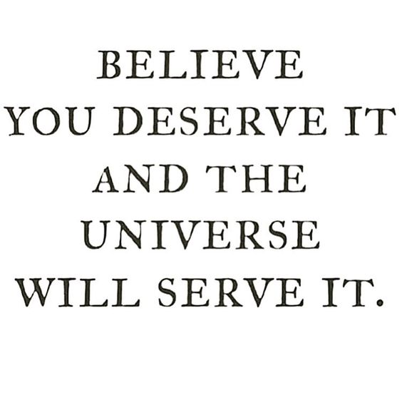 believe and recieve