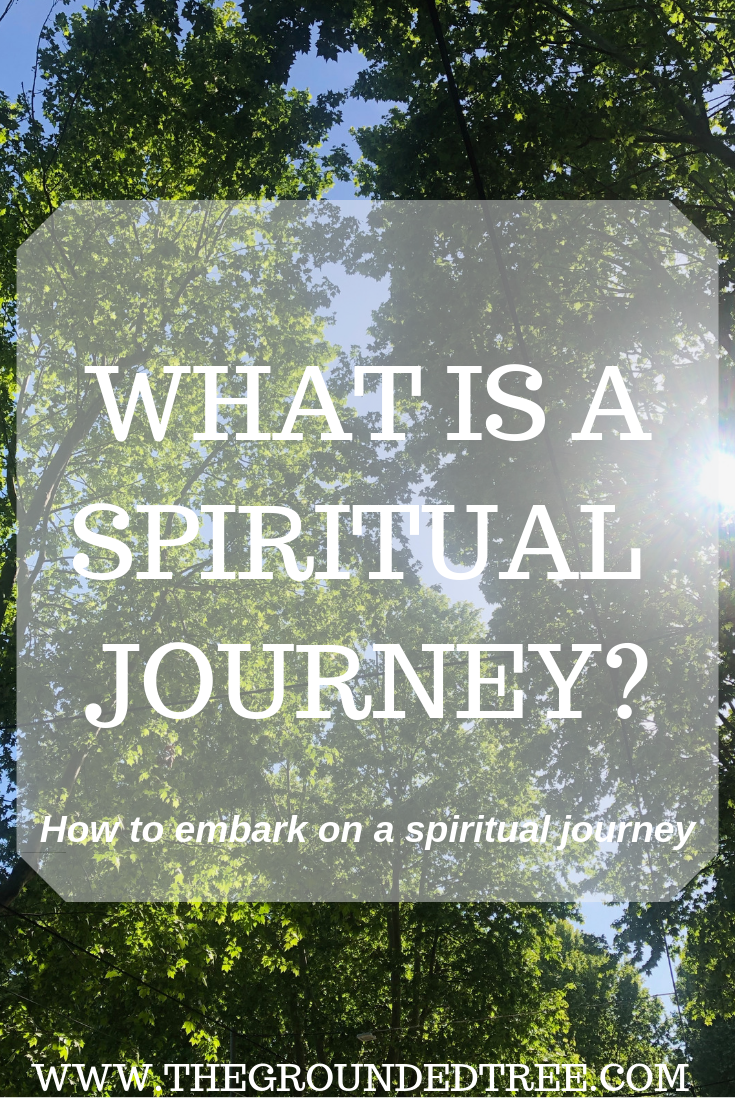 Cover post of what is a spiritual journey